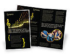 Art & Entertainment: Modern Music Brochure Template #04739