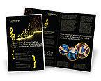 Art & Entertainment: Moderne Muziek Brochure Template #04739