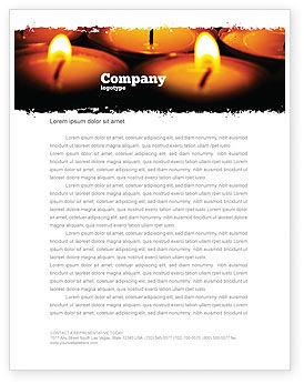 Religious/Spiritual: Templat Kop Surat Pelayanan Keagamaan #04743