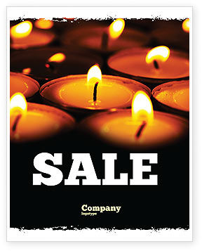 Religious Service Sale Poster Template