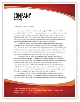 Jobs Letterhead Template, 04745, Consulting — PoweredTemplate.com