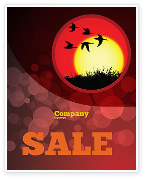 Flock Sale Poster Template