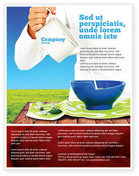 Food & Beverage: Milk Feeding Flyer Template #04747