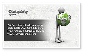 Global: World Love Business Card Template #04748