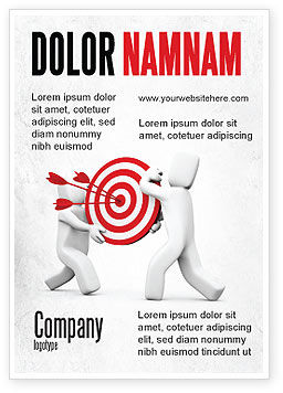Business Concepts: Target Point Ad Template #04751