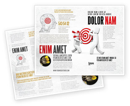 Business Concepts: Target Point Brochure Template #04751