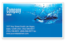 Nature & Environment: Dash Business Card Template #04758
