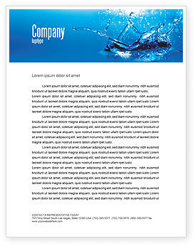 Nature & Environment: Dash Letterhead Template #04758