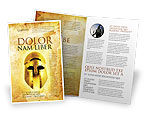 Education & Training: Antiquity Brochure Template #04760