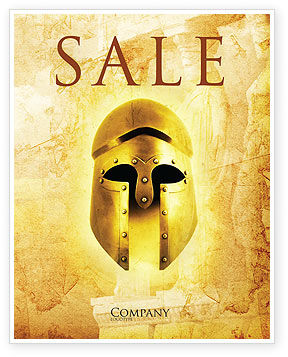 Antiquity Sale Poster Template