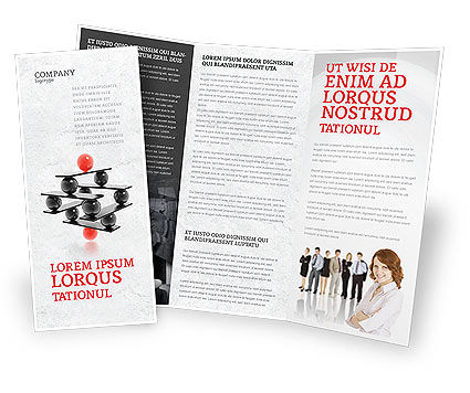 Business Concepts: Performance Management Brochure Template #04761