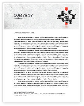 Business Concepts: Performance Management Letterhead Template #04761