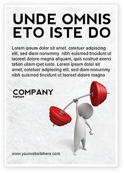 Business Concepts: Plantilla de publicidad - fuerza #04770