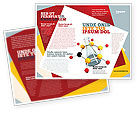 Education & Training: Organic Chemistry Brochure Template #04773
