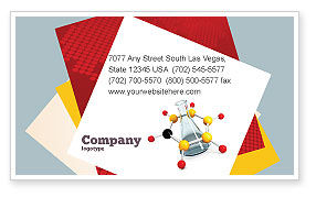 Organic Chemistry Business Card Template