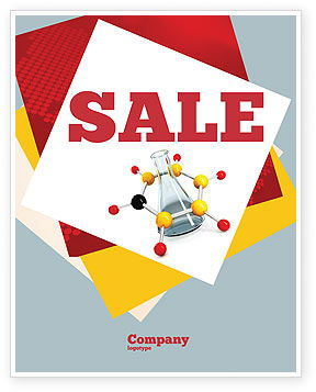 Education & Training: Organic Chemistry Sale Poster Template #04773