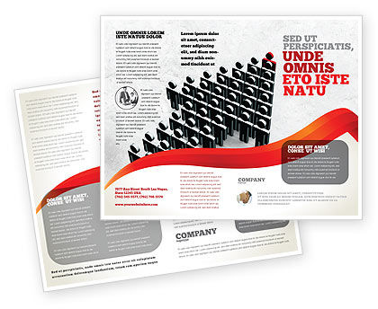 Careers/Industry: Administratieve Prestaties Brochure Template #04775