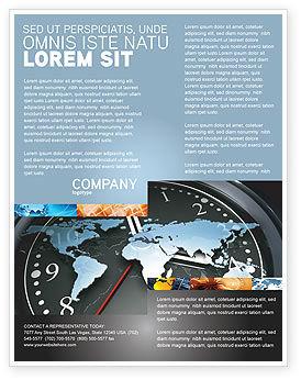 Global: Templat Flyer Jam Dunia #04781