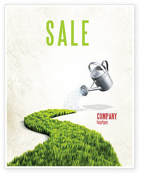 Nature & Environment: Modello Poster - Percorso verde #04785