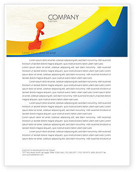 Careers/Industry: Improvement Letterhead Template #04786
