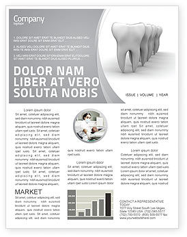 Medical: Teeth Newsletter Template #04787