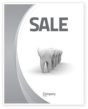 Teeth Sale Poster Template