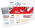 Consulting: Red Piece Brochure Template #04790