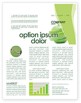 Sliced Green Apple Newsletter Template