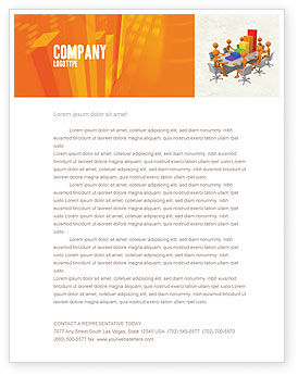 Consulting: Discussing Results Letterhead Template #04800