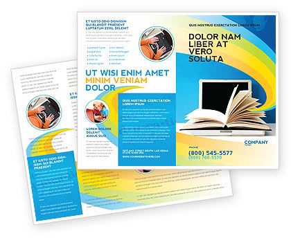 ELearning Brochure Template Design And Layout Download Now - Online brochure template