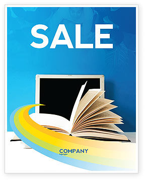 eLearning Sale Poster Template, 04807, Education & Training — PoweredTemplate.com