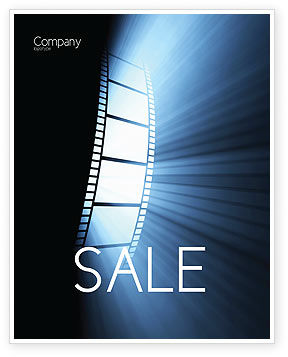Careers/Industry: Film Tape Sale Poster Template #04812