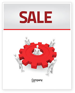 Working Gear Sale Poster Template