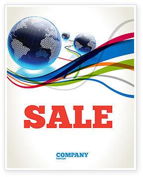 Telecommunication: Templat Poster Web Dunia #04819