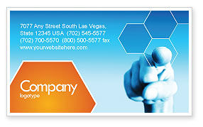 Business Professional Business Card Template, 04831, Business Concepts — PoweredTemplate.com