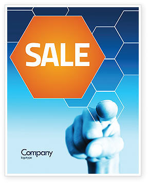 Business Professional Sale Poster Template, 04831, Business Concepts — PoweredTemplate.com