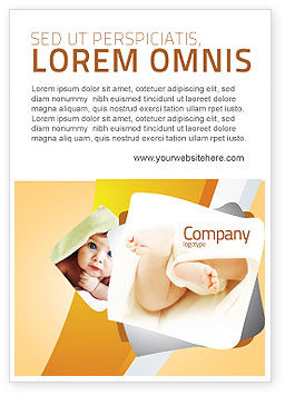 Education & Training: Little Feet Ad Template #04837
