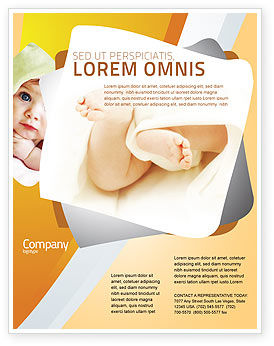 Education & Training: Little Feet Flyer Template #04837