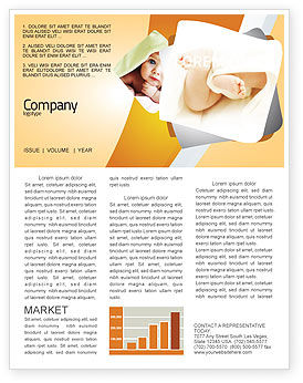 little feet newsletter template for microsoft word adobe indesign