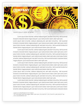 Finance Letterhead Template