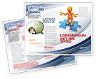 Consulting: Don't Know Brochure Template #04853