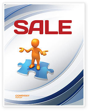 Don't Know Sale Poster Template