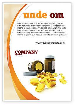 Medical: Modèle de Publicité de capsules #04855