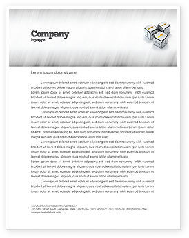 Business Concepts: Templat Kop Surat Arah Pergerakan #04856