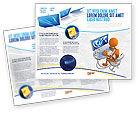 Education & Training: Modello Brochure - Dipendenza da internet #04860
