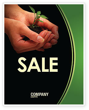 Nature & Environment: Planting Sale Poster Template #04862