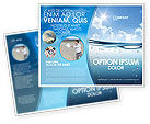 Careers/Industry: Water Wave Brochure Template #04866