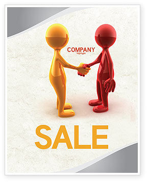 Business: Greeting Sale Poster Template #04867
