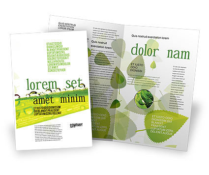 Dew Brochure Template