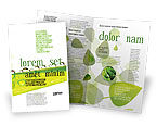 Nature & Environment: Dew Brochure Template #04872